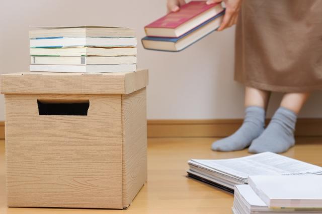 一人暮らしのための荷物整理
